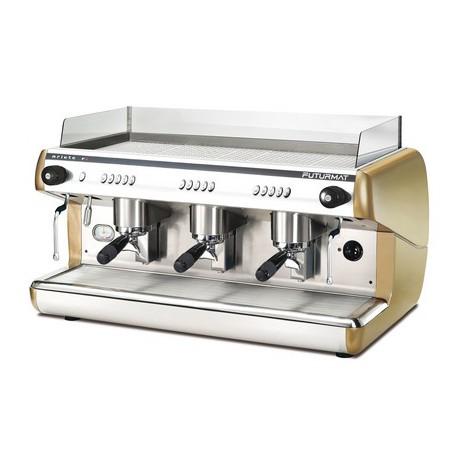 Cafetera Quality espresso Ariete F3 electrónica 3 grupos