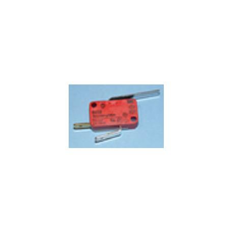 Microinterruptor de escotilla, palanca 32 mm de lavadora Fagor SF300, SF500R