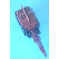 Interruptor bipolar 4 contactos eje largo de lavavajillas Newpol