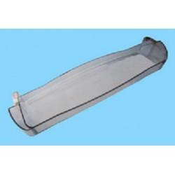 Ménsula intermedia transparente 49,5x12,5x4 cm, anclaje 46,5 cm de frigorífico Fagor 2FC47XEV, 3FC68NFX, F518NFDG