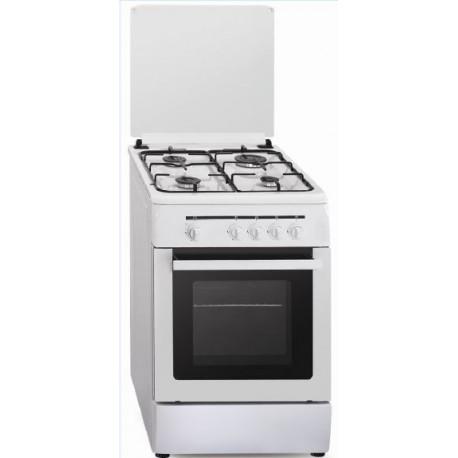 Cocina a gas Vitrokitchen CB55BB / CB55BN