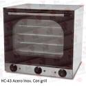 Horno eléctrico de convección Masamar HC-43 Esmaltado/Acero Inox/Acero Inox. Con grill