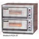 Horno para pizzas eléctrico Masamar H8P-330
