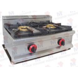 Cocina a gas Masamar CQL-2FH