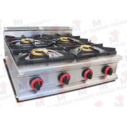 Cocina a gas Masamar CQL-4F