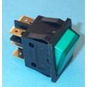 Interruptor Luminoso Piloto Verde bipolar universal seis contactos, 25x32mmFER14AG0003