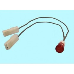 Indicador Luminoso Rojo 9mm FER14AG0002