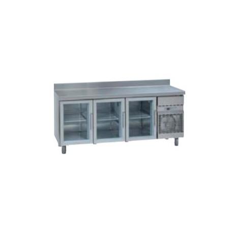 Mesas Refrigeradas con Puerta de Cristal MCG 2000 C. Gama Stile GN 1/1