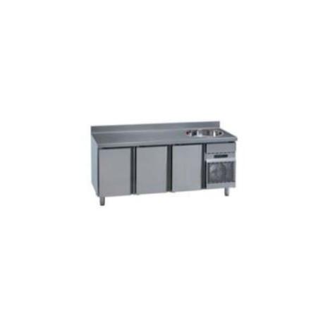 Mesas Refrigeradas con Frigorífico MCG/MNG 2000F. Gama Stile GN 1/1