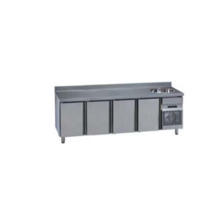 Mesas Refrigeradas con Frefadero MCG/MNG 2500 F. Gama Stile GN 1/1