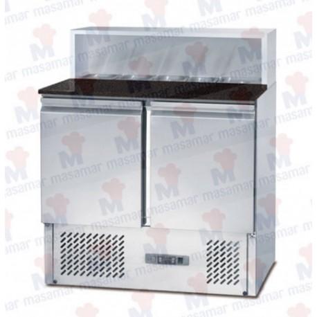 Mesa Refrigerada Para Pizza - MP 900. Masamar
