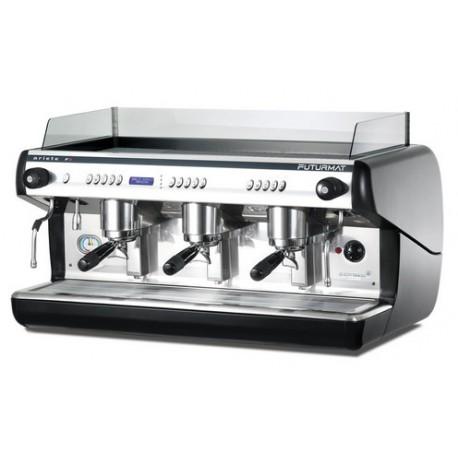 Cafetera Quality espresso Ariete F3 electrónica 3 grupos display digital