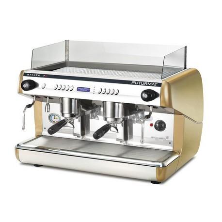 Cafetera Quality espresso Ariete F3 electrónica 2 grupos display digital