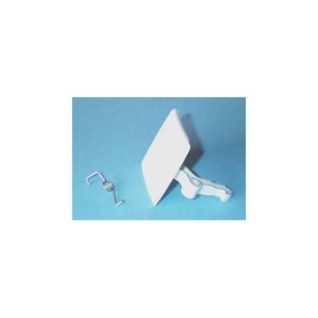 Maneta cierre escotilla (gancho de plastico) Balay , Bosch, crolls, ly nx, Superser