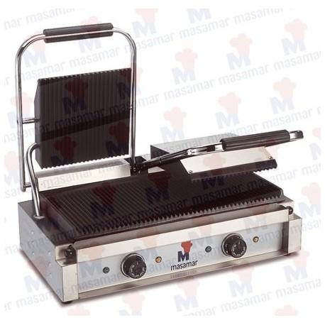 Plancha grill eléctrica Masamar G-3P DOBLE/ G-3PL