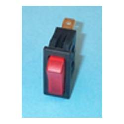 Interruptor unipolar luminoso rojo Universal 11x30 mm 220V