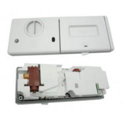 Dosificador con 2 contactos inferiores de lavavajillas Fagor, Edesa LV35, LV55, LV85, LV25P
