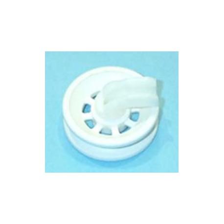 Rueda inferior de cesto de lavavajillas Fagor, Aspes LV25, LV35, VA41P, VA52P