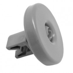 Rueda de cesto inferior 40mm de diámetro de lavavajillas Zanussi, Electrolux, Aeg DA6473, DA6644, DE2144, DE2654, DE6865