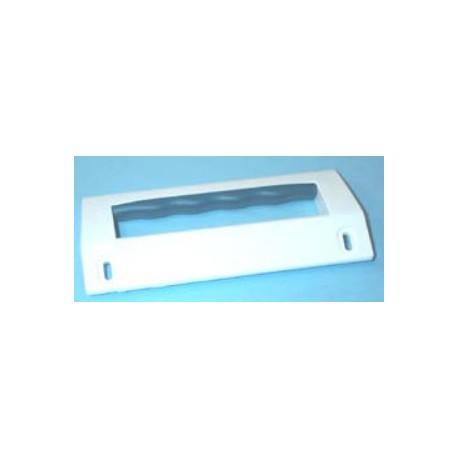 Tirador de puerta 15,5x6,5 cm con tornillos 13,5 cm de frigorífico Zanussi Z2810, Z6820, ZC280