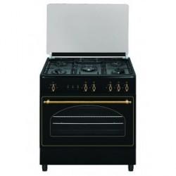 Cocina a gas Vitrokitchen RU9060B/RU9060N