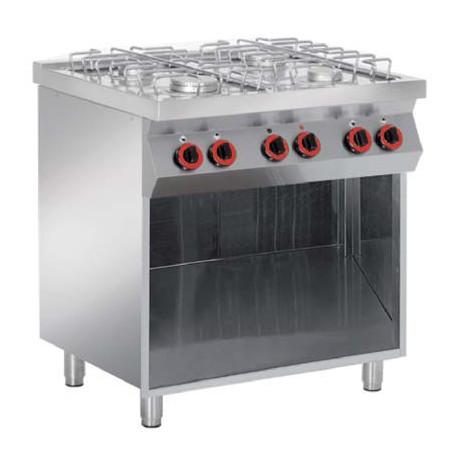 Cocina a gas Mueble Libre Granita 7PCBG04