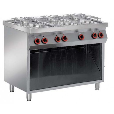 Cocina a gas Mueble Libre Granita 7PCBG06