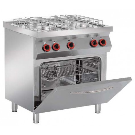 Cocina a gas con Horno Granita 7PCHG41 + Grill