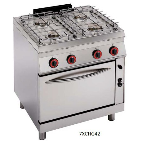 Cocina a gas Modular Granita 7XCHG42(con Horno)