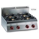 Cocina Top a gas Granita 7TCG2