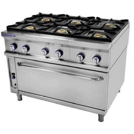 Cocina a gas Repagas CG-961H LC