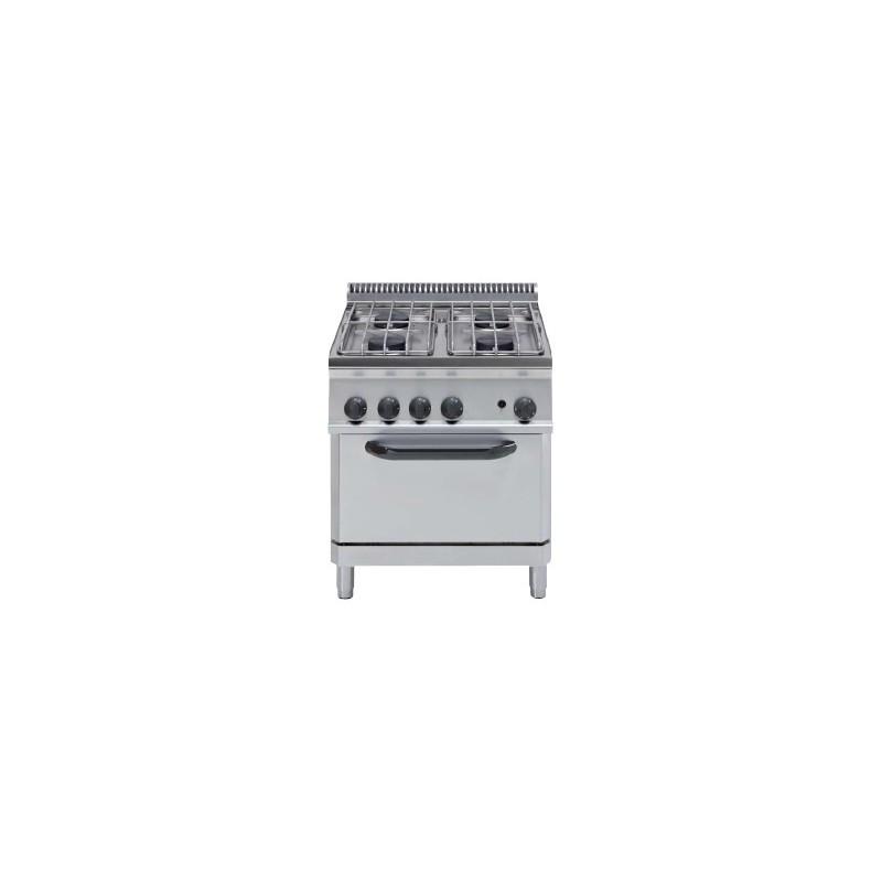 Cocina a gas horno el ctrico crystal line ef70gg7 - Isletas de cocina ...