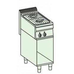 Cocina a gas + módulo bajo Crystal Line Línea 700 Basic EC35FG7
