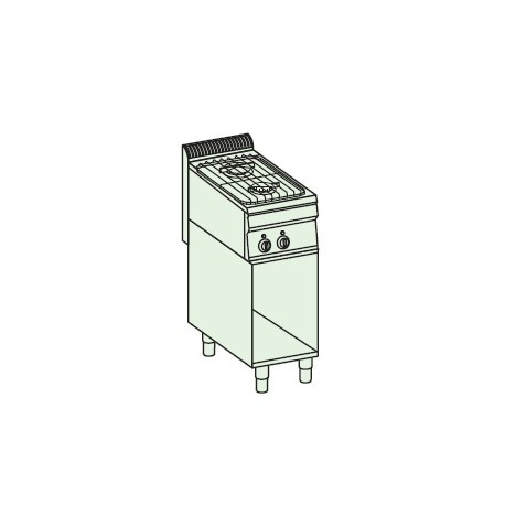 Cocina a gas + módulo bajo Crystal Line Línea 700 Basic EC35FSG7