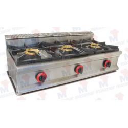 Cocina a gas Masamar CQL-3FH