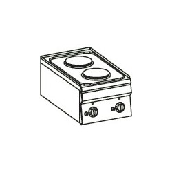 Cocina eléctrica Crystal Line Línea 600 PC35E60