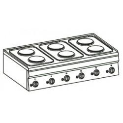 Cocina eléctrica Crystal Line Línea 600 PC105E60
