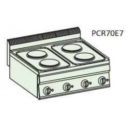 Cocina eléctrica Crystal Line Línea 700 PCR70E7