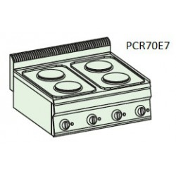 Cocina eléctrica Crystal Line Línea 700 PCR70E71