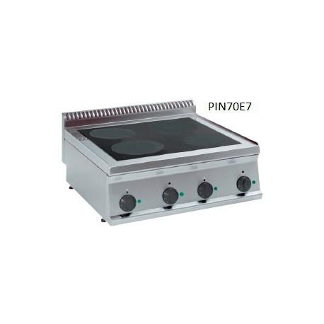 Cocina vitrocerámica de inducción Crystal Line Línea 700 PIN70E7