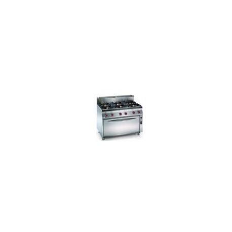 Cocina a gas Modular Granita 7CBG16XL(Horno Maxi)