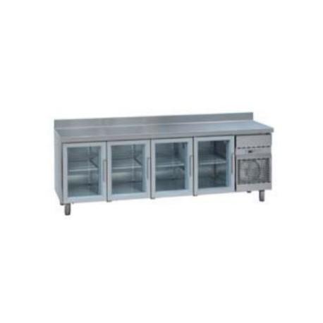 Mesa Refrigeradas con Cristal MCG 2500 C. Gama Stile GN 1/1