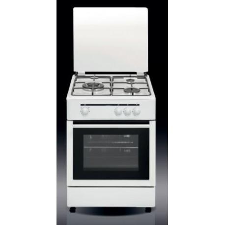 Cocina 3 Fugos. (1 Triple) Blanca. CB5530BB/CB5530BN