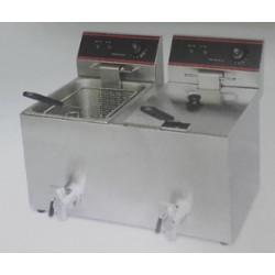 Freidoras Eléctricas de Sobremesa  F6+6 / F8+8. ,Masamar