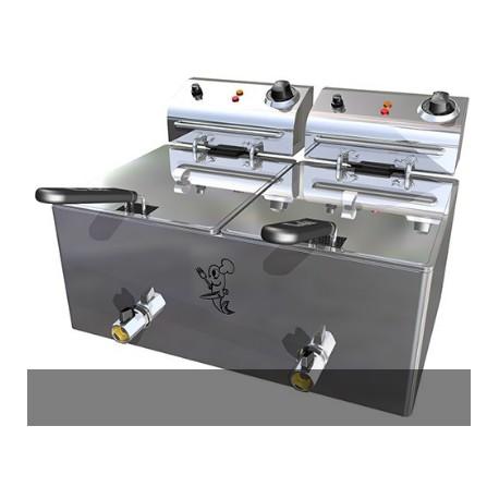 Freidora eléctrica Movilfrit FH 10+10