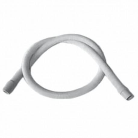 Tubo de salida de 1,5 metros ,19/22 mm, recto-recto de lavadora y lavavajillas Universal