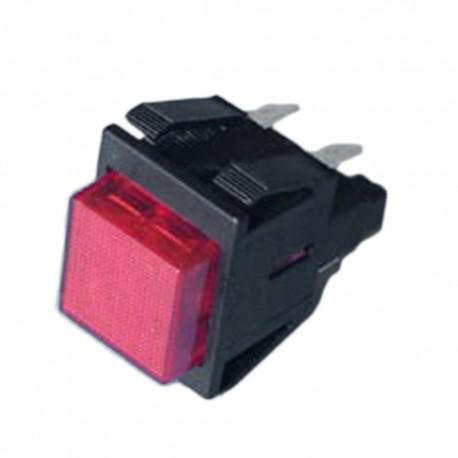 Interruptor luminoso de lavadora Universal