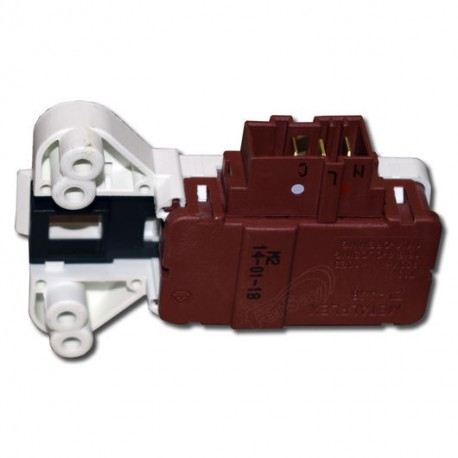 Blocapuertas 3 contactos de lavadora Fagor L39A004I8, F54, F85, F105, F115, F414, F424, F634, F844, LF420, LF430, LAK000174