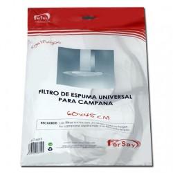 FILTRO ESPUMA CAMPANA EXTRACTORA 60 X 45 CM. FER41CU0013