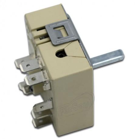 Selector de potencia vitrocerámica standard 2 circuito giro derecha